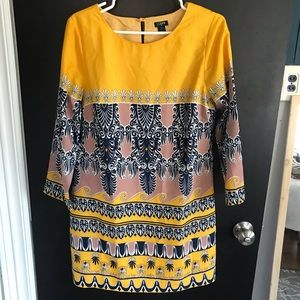 Jcrew Patterned Shift dress